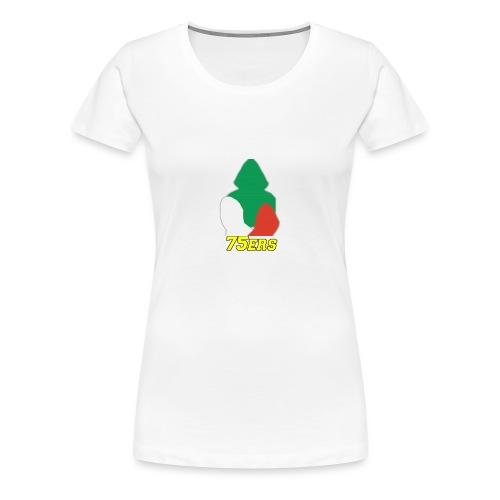 logo75ers - Maglietta Premium da donna