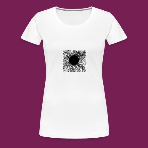 Mörker/ darknes - Premium-T-shirt dam