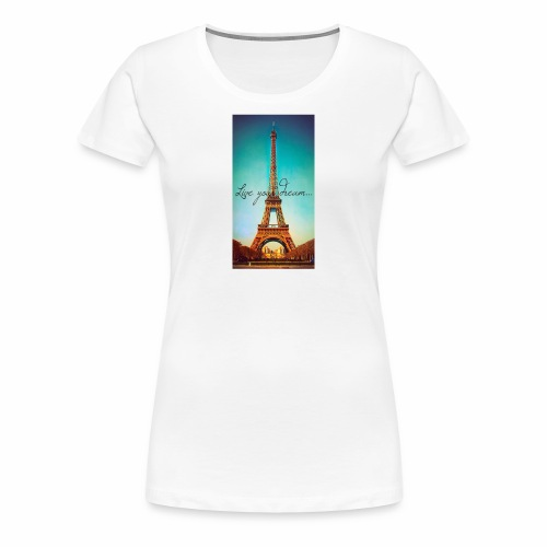 paris - Premium-T-shirt dam