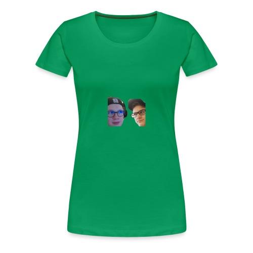 Ramppa & Jamppa - Naisten premium t-paita
