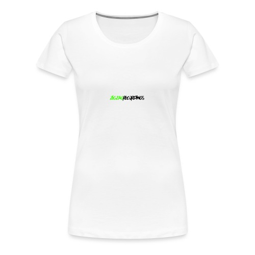 recordings long black - Vrouwen Premium T-shirt