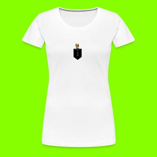 T-Shirt De Cor Dupla c/ Bolso - Women's Premium T-Shirt