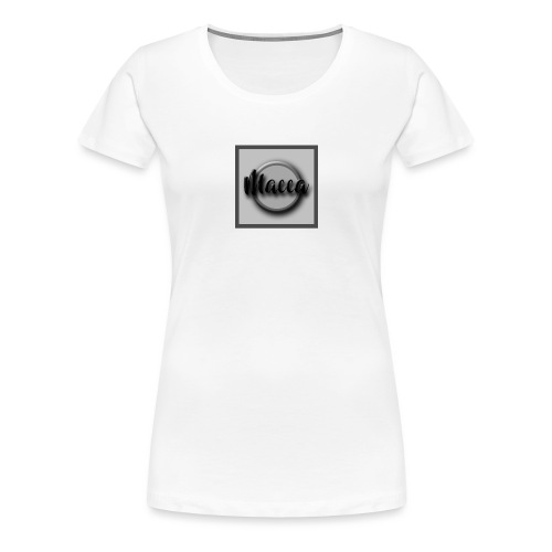 YouTube Channel Logo - Women's Premium T-Shirt