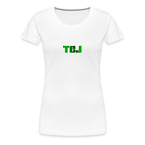 TGJ OFFICIAL LOGO - Dame premium T-shirt