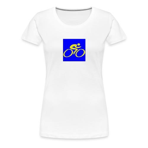 Tour de Epe Logo 2017 2018 2 png - Vrouwen Premium T-shirt