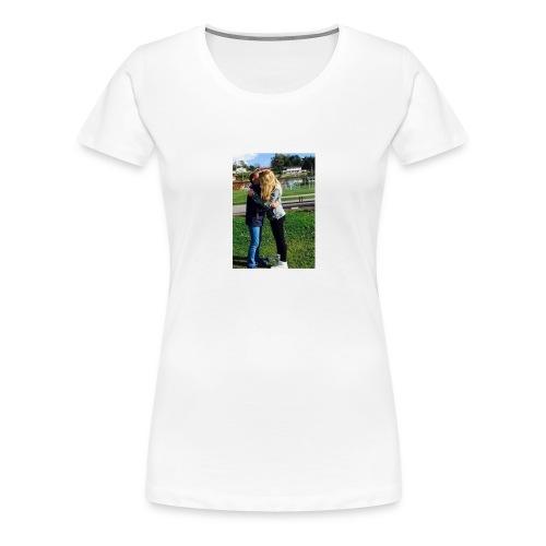 MathildeElskerDeg-jpg - Premium T-skjorte for kvinner