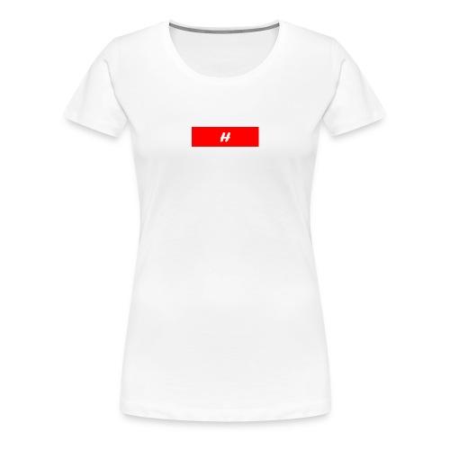 H - Premium T-skjorte for kvinner