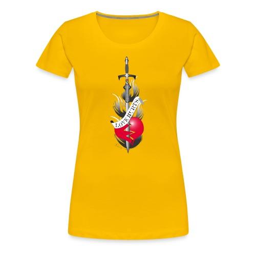 Love Hurts 2 - Liebe verletzt - Frauen Premium T-Shirt