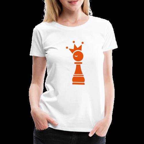 Winky Chess King - Vrouwen Premium T-shirt
