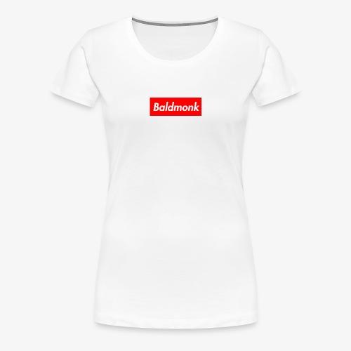 Baldmonk Box Logo - Women's Premium T-Shirt