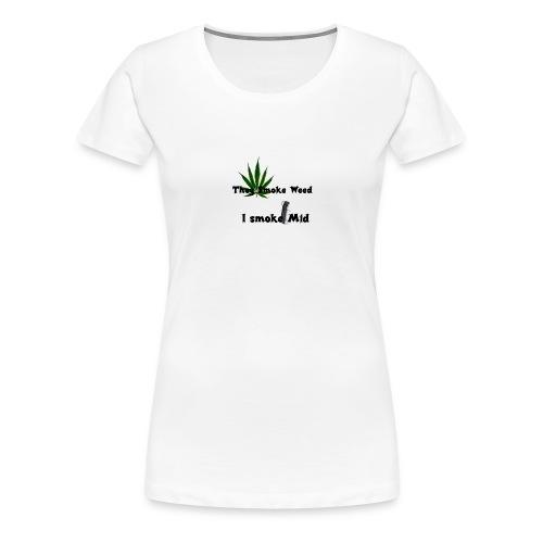 Greenkush Counter Strike style - Premium-T-shirt dam