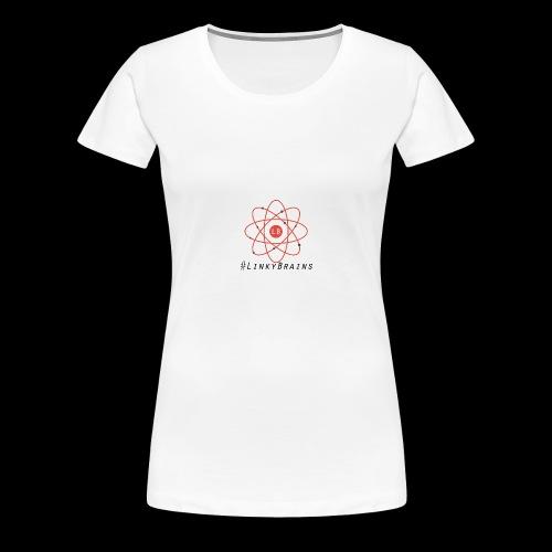 LinkyBrainsLogo2018 - Women's Premium T-Shirt