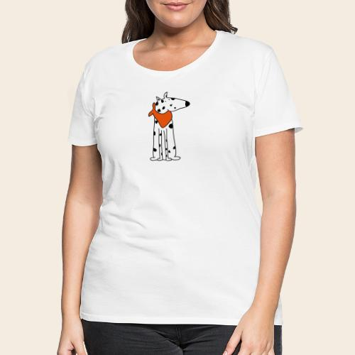 mignon dalmatien - T-shirt Premium Femme