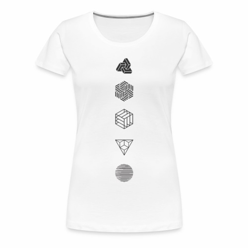 Mr. Project 0.1 - Vrouwen Premium T-shirt