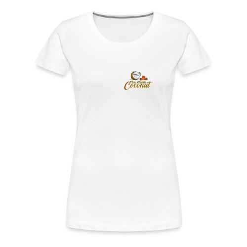The warm coconut campfire - Women's Premium T-Shirt