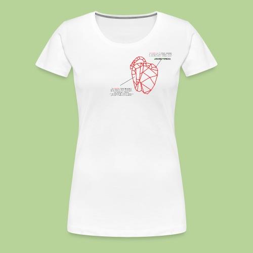 PeperoneCol - Maglietta Premium da donna