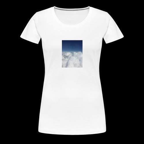 clouds - Vrouwen Premium T-shirt