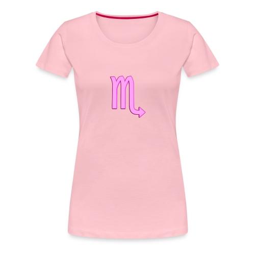 Scorpione - Maglietta Premium da donna