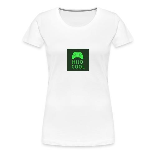 Hijo cool logo - Premium-T-shirt dam