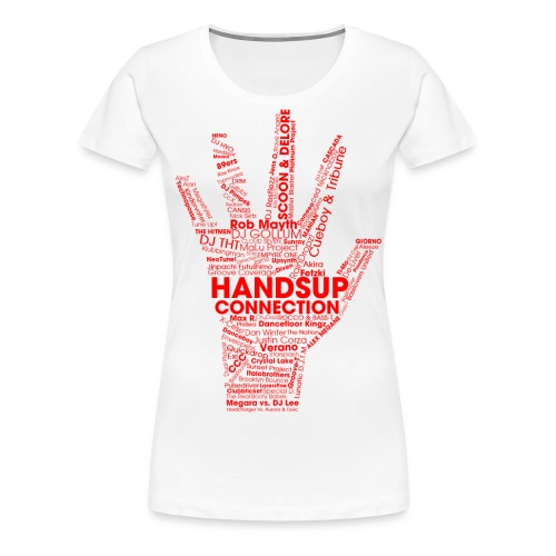 huc tshirt red png - Women's Premium T-Shirt
