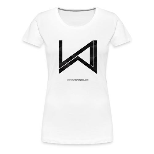 Wild Shot Noir - T-shirt Premium Femme