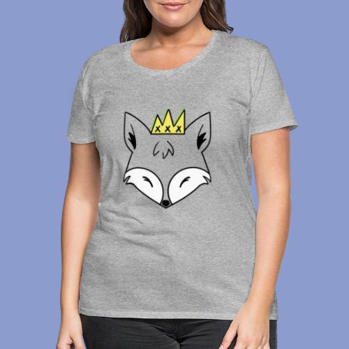 king fox - Maglietta Premium da donna