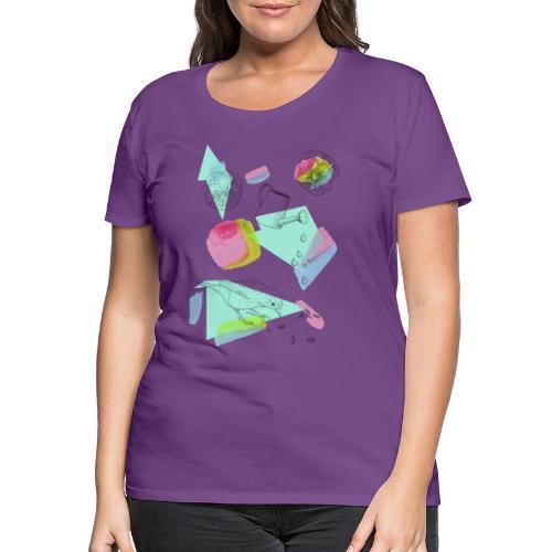 Frühlingshafter Garten - Frauen Premium T-Shirt