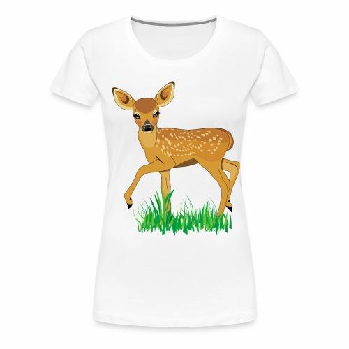 cerbiatto - Maglietta Premium da donna