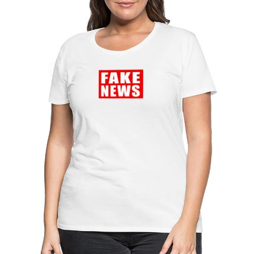 FAKE NEWS - Women's Premium T-Shirt
