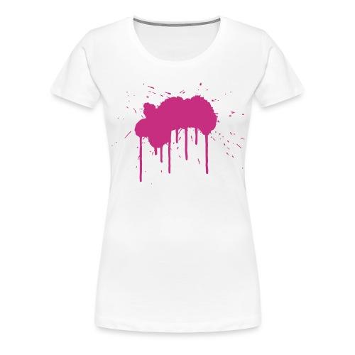 Grosser Klecks - Frauen Premium T-Shirt