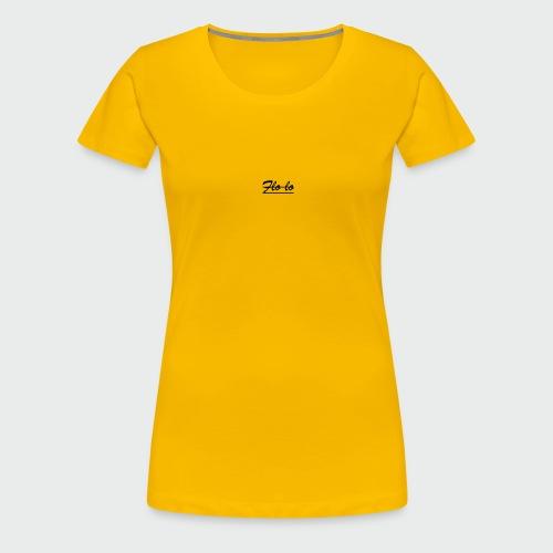 flolo durchgestrichen - Frauen Premium T-Shirt