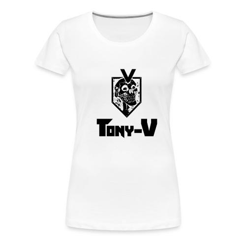 Tony V Tee-SHIRT H Blanc - T-shirt Premium Femme
