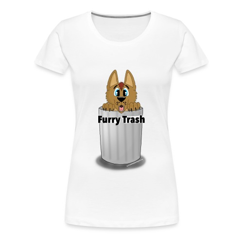 Furry Trash - Dame premium T-shirt