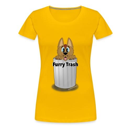 Furry Trash - Dame premium T-shirt
