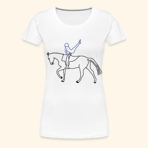 Voltigieren - Kür - Frauen Premium T-Shirt