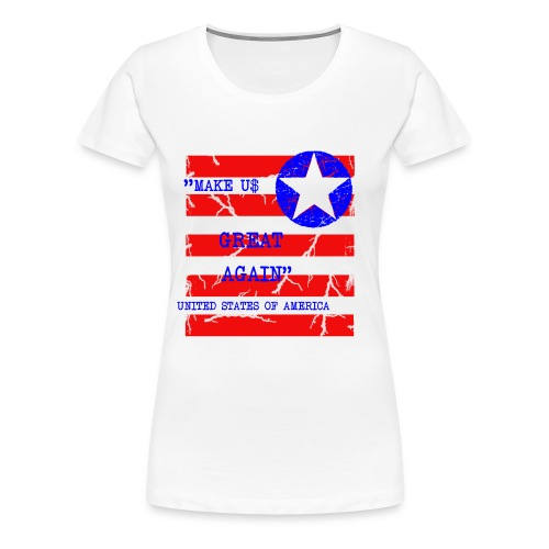 MAKE USG REAT AGAIN - Premium-T-shirt dam