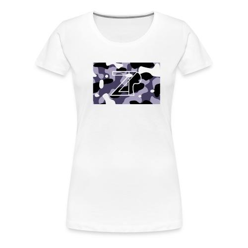 zp logo - Women's Premium T-Shirt