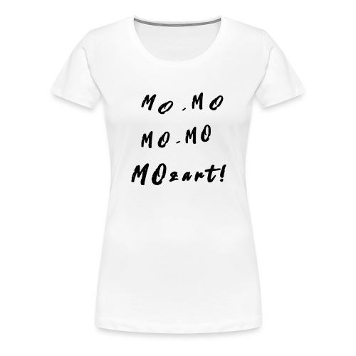 Milly's Mozart T-shirt - Women's Premium T-Shirt