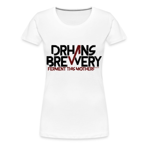 DrHans Brewery Logo - Premium-T-shirt dam