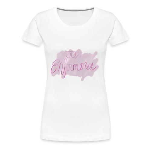 50% enfermera - Camiseta premium mujer