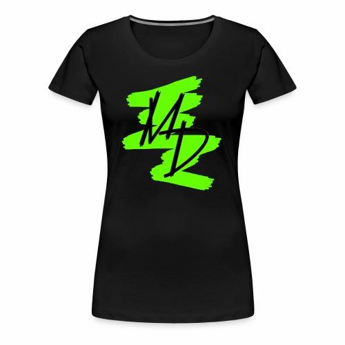 MD BRAND PNG Verde - Camiseta premium mujer