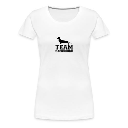 team-dachshund - Maglietta Premium da donna