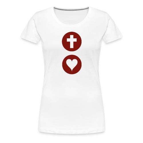 Heart Icon - Women's Premium T-Shirt