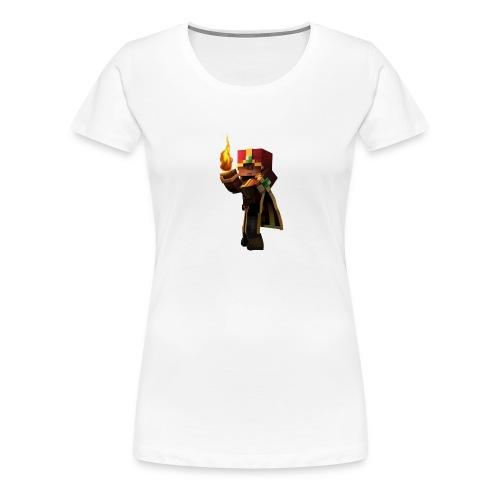 MineKnight BackPack BP - Premium-T-shirt dam