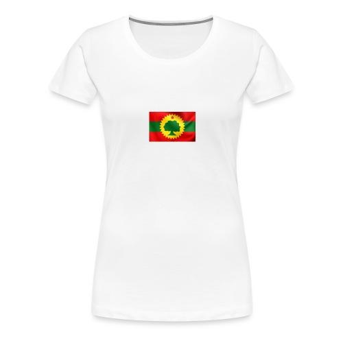 Oromo flag hoodie/ T shirt - Vrouwen Premium T-shirt