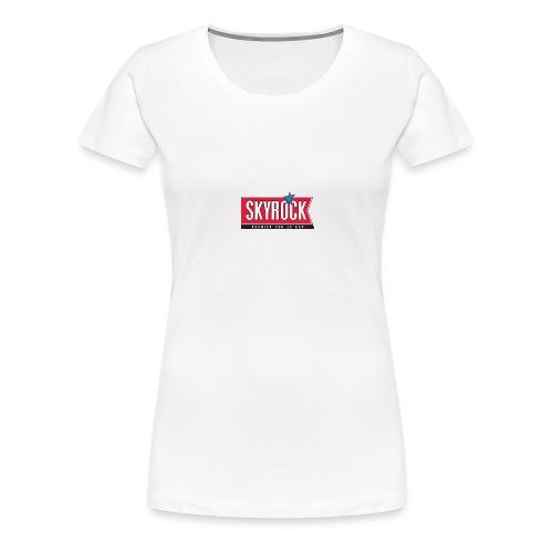 Skyrock - T-shirt Premium Femme