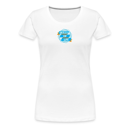 Skills of Life Logo - Women's Premium T-Shirt