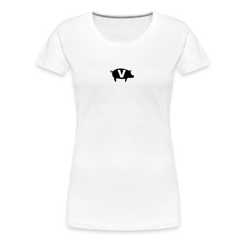Viand-white-logo - T-shirt Premium Femme