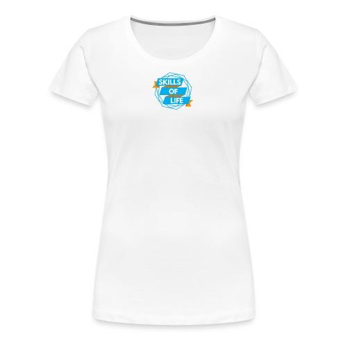 Skills of Life Logo - Women's Premium T-Shirt