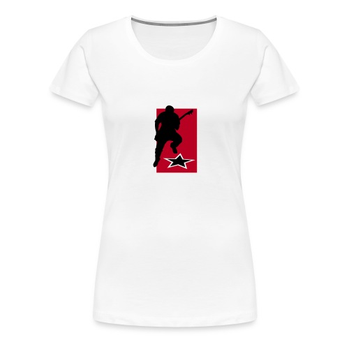 gitarrist - Frauen Premium T-Shirt